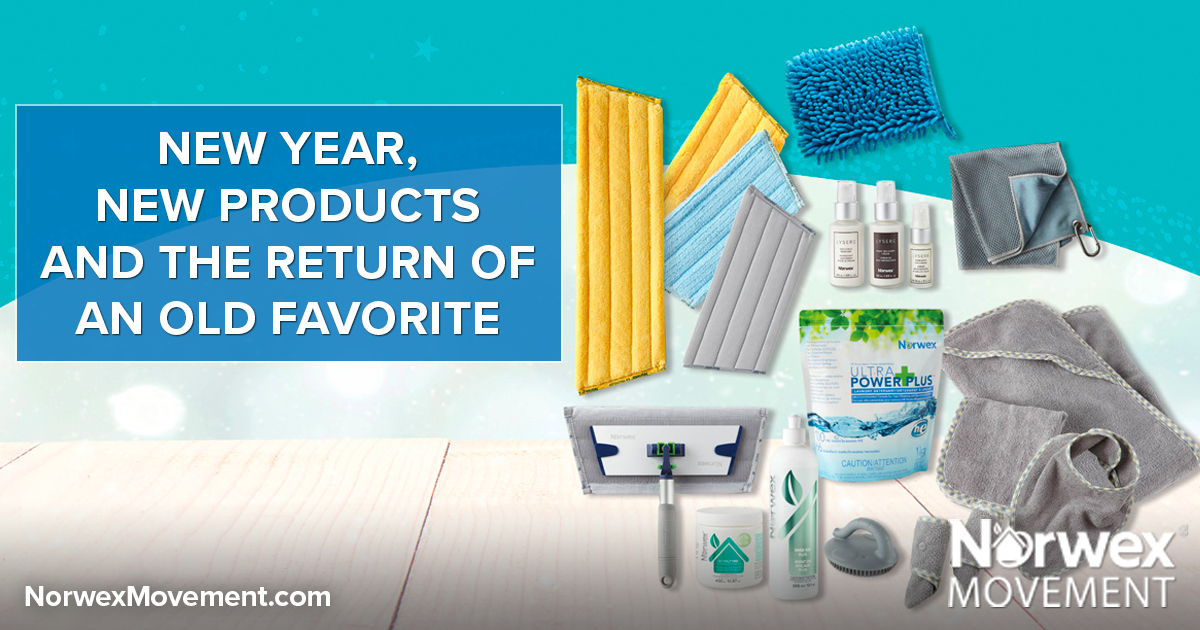 New Year, New Products (and the Return of an Old Favorite)!